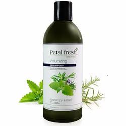 Dầu gội organic giảm dầu và rụng tóc bạc hà và hương thảo Petal Fresh