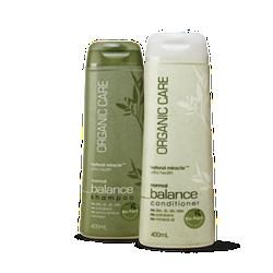 Bộ đôi dầu gội - dầu xả dưỡng tóc bóng mượt Organic Care - Tiết kiệm