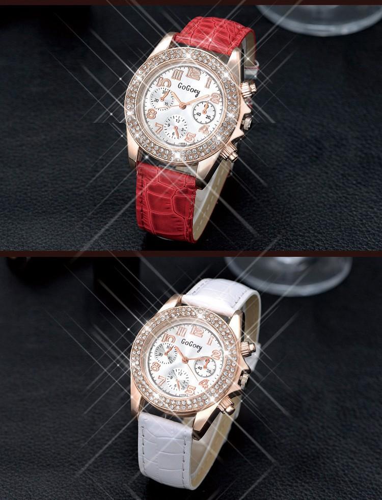 Đồng hồ thời trang đính hạt xinh xắn 1