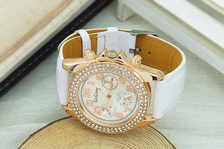 Đồng hồ thời trang đính hạt xinh xắn 8