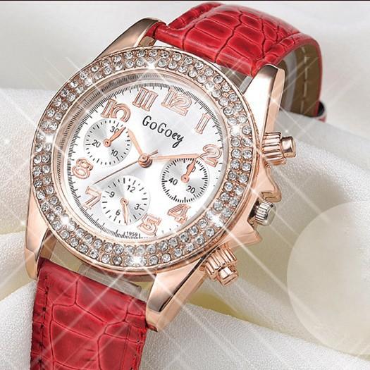 Đồng hồ thời trang đính hạt xinh xắn 3