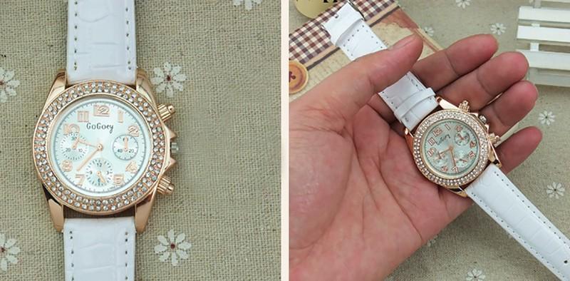 Đồng hồ thời trang đính hạt xinh xắn 6