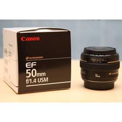 Ống kính Canon EF 50mm f1.4 USM tặng len hood
