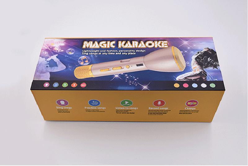 Mic Karaoke Bluetooth K088 Kèm Loa 3IN1 9