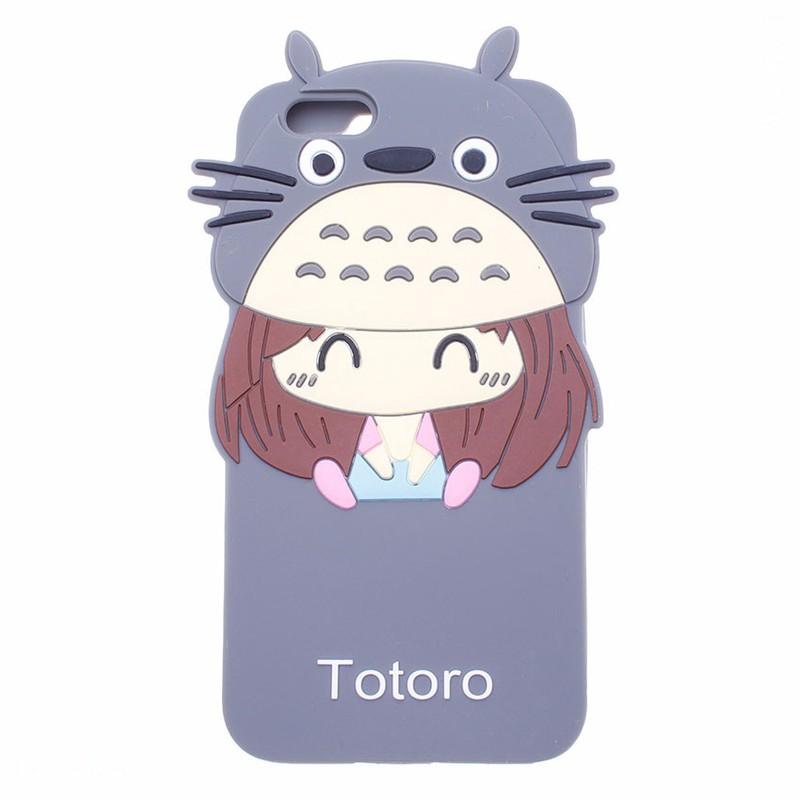 Ốp lưng dẻo Chibi Totoro cho  IPhone 6, 6S 1