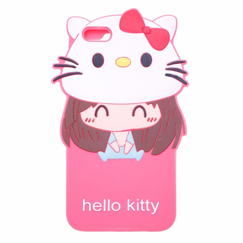 Ốp lưng dẻo Hello Kitty cho IPhone 5,5S 1