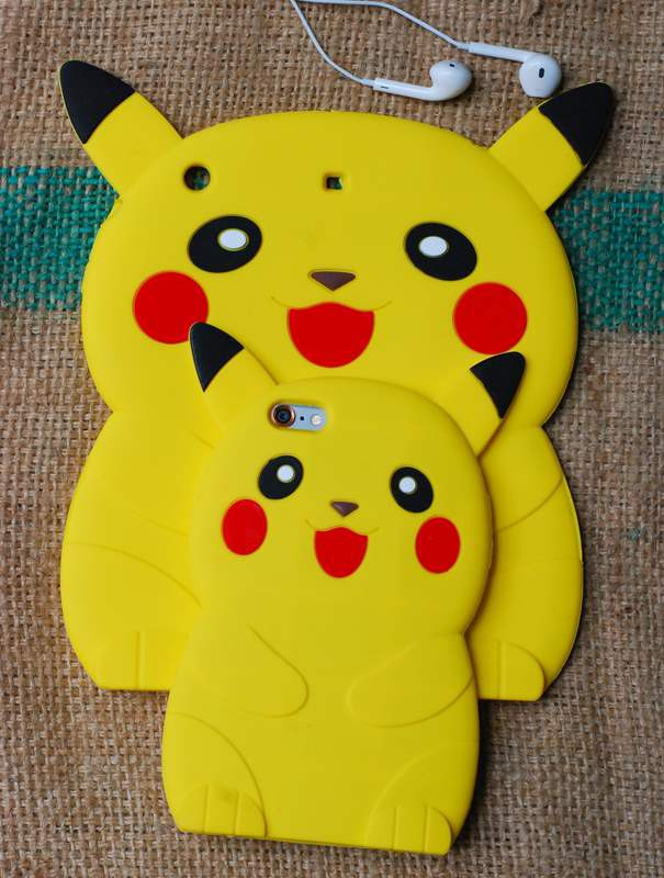 ỐP THÚ NỔI POKEMON 3D IPAD mini2,3,4, ipad 2,3,4, ipad air1,2 6