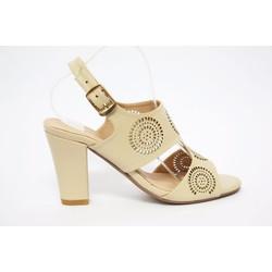 Giày nữ gót vuông cao cấp cực xinh giá cực mềm
