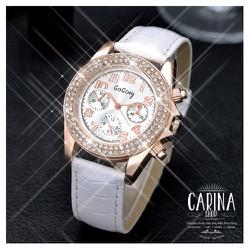Đồng hồ thời trang đính hạt xinh xắn