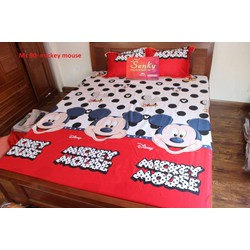 Bộ drap mickey mouse