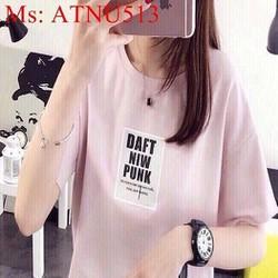 Áo thun nữ hồng nhạt dễ thương cùng nàng dạo phố ATNU513