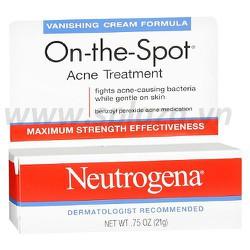 Kem trị mụn Neutrogena On the Spot Acne Treatment 21g