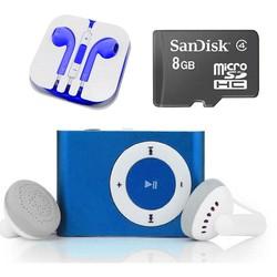BỘ MÁY NGHE NHẶC MP3 KÈM TAI NGHE VÀ THẺ NHỚ 8GB