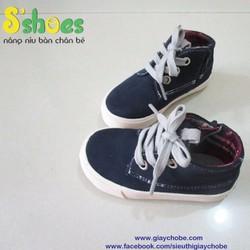 Giày cao cổ xuất khẩu trẻ em
