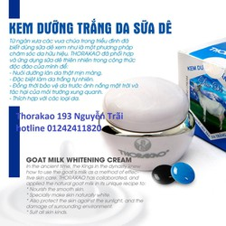 kem dưỡng da sữa dê