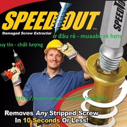 Mũi Khoan Đa Năng Speed Out Giá Hot