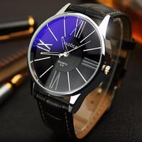 Đồng hồ YAZOLE mặt dạ quang , phong cách sang trọng - YAZOLE01
