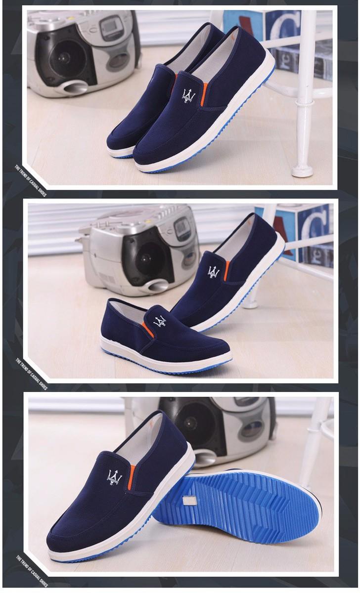 Giày Vải Chất Liệu Bền Đẹp - GV02 4