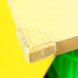 Combo 2 vỉ Nhựa dẻo bọc góc bàn bảo vệ an toàn cho bé