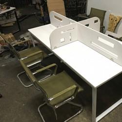 Bàn văn phòng cụm 4 vách ngăn BSC01