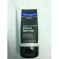 Tẩy tế bào chết cho nam NEUTROGENA Men Razor Defense Daily Face Scrub