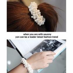 Cột tóc ngọc trai Hàn Quốc