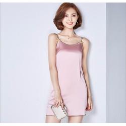 Đầm 2 dây suông Thu Đông thời trang cao cấp 2016 - MZ308