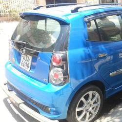 Kia Morning Sport số tự động màu xanh