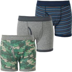Set 3 quần chip bé trai màu 53 Green hãng Uniqlo - hàng nhập Nhật