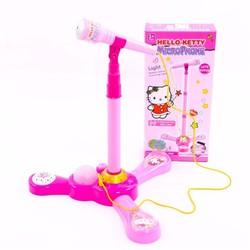 Microphone Hello Kitty cho ca sĩ nhí nhà bạn