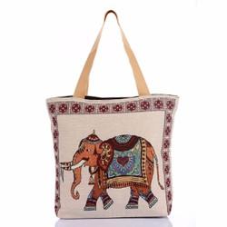Túi xách du lịch thời trang thổ cẩm cao cấp Hoian Gifts