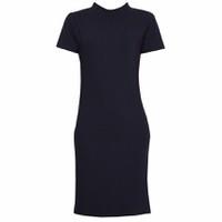 Áo Váy Đầm Len Mỏng Dáng Form Dài Midi Ngắn Tay Cổ Tròn DAM 0061 N