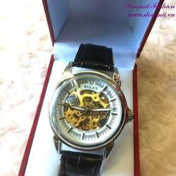 Đồng hồ cơ dây da Ro đẳng cấp sành điệu phái mạnh DHDT129