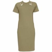 Áo Váy Đầm Len Mỏng Dáng Form Dài Midi Ngắn Tay Cổ Tròn DAM 0062 OL