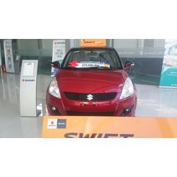 Xe Suzuki Swift 2016 màu Đỏ nóc Đen