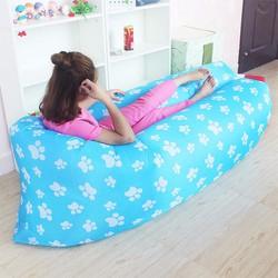 Ghế sofa giường ngủ đệm hơi thông minh bông xanh