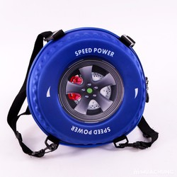 Ba lô hình bánh xe 3D cho bé trai