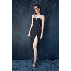 Đầm đen ôm body dự tiệc cướithiết kế tôn dáng sang trọng M3991