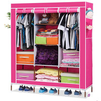 Tủ quần áo cỡ đại 3 buồng 8 ngăn cao cấp