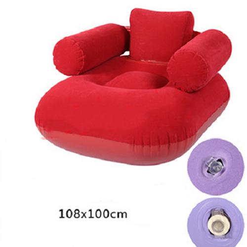 Ghế sofa đệm hơi cao cấp 108x100 cm đỏ tặng máy bơm hơi - 4051587 , 3873231 , 15_3873231 , 455000 , Ghe-sofa-dem-hoi-cao-cap-108x100-cm-do-tang-may-bom-hoi-15_3873231 , sendo.vn , Ghế sofa đệm hơi cao cấp 108x100 cm đỏ tặng máy bơm hơi