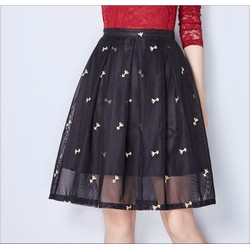 Chân váy xòe phồng thời trang cao cấp 2016 - MZ325