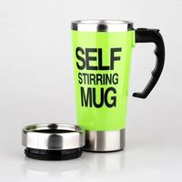 Ly pha Cafe tự động Self Stirring Mug Xanh