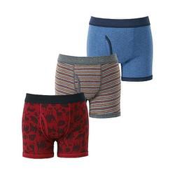 Set 3 quần lót bé trai màu 16 Red - hàng nhập Nhật