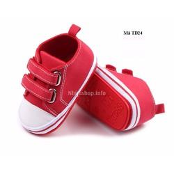 Giày tập đi cho bé 0 - 24 tháng kiểu dáng thể thao TD24