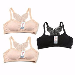 Combo 3 áo bra dây lưng cánh bướm - Shop An