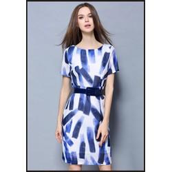 Đầm suông chất liệu tơ sống cao cấp thiết kế độc quyền bởi Ivinci