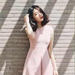 Đầm xòe nhẹ đuôi xếp li cực đẹp PleTes Dress