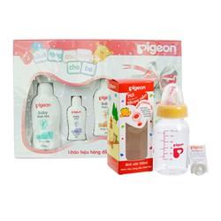 Bộ sản phẩm sữa tắm Pigeon cho bé