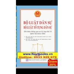 Sách: Bộ Luật Dân Sự - Bộ Luật Tố Tụng Dân Sự