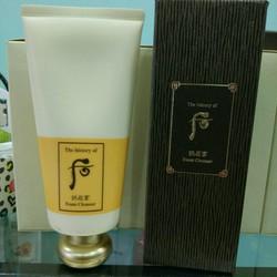 Sữa rửa mặt Hoàng cung Whoo Foam Cleanser 180ml